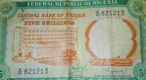 Image result for nigeria shilling