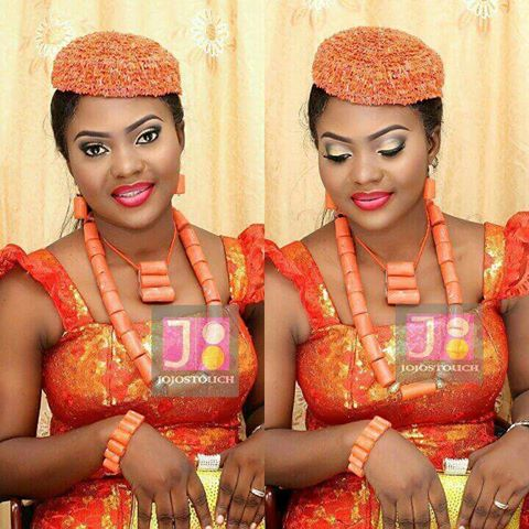Tbt:We told you ikwerre brides are the best you can have,everything toh bad,will you stop loving this look? They always have gorgeous brides,and when @jojostouch is part of big day then you gat no fear#nigerianbride#Riversbride#portharcourtbride#ikwerrebride#ikwerreweddings